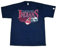 Vtg Cleveland Indians MLB 1994 Competitor Chief Wahoo T-Shirt Size XL NEW