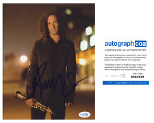 Kenny G Saxaphone Signed Autographed 8x10 Photo EXACT Proof ACOA Authenticated A