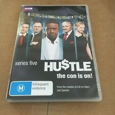 HUSTLE DVD, THE CON IS ON! SERIES FIVE DVD