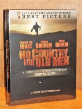 No Country For Old Men (DVD, 2008, 3-Disc) 2007 Best Picture oscar Javier Bardem