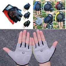 Cool Cycling Gloves Bicycle Bike Riding Motorcycle Sports Gel Half Finger Gloves