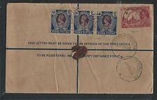 BURMA (P2805B)1940 RLE UPRATED 1RX3 PEACOCK+ 2A 6P