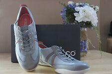 Ecco Bluma Lace Designer Sneakers Womens Coral Size 10 (EU 41) New