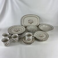 Stoneware Cumberland Mayblossom Dinnerware By Hearthside Japan Set Of 22