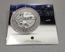 2013 Royal Canadian Mint $20 for $20 Silver Coin: Hockey