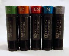 Set Of 5 Briley Black Oxide Spectrum Browning Invector+ Plus Choke Tubes