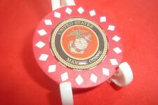 Usmc United States Marine Corps 3D Image Poker Chip 