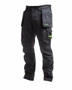 Apache Bancroft Work Trouser Slim Fit Flex Stretch Holster and Kneepad pockets-