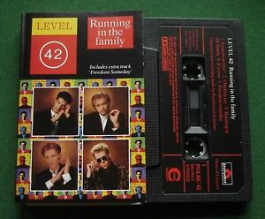 Level 42 Running In The Family inc Lessons In Love + Cassette Tape - TESTED
