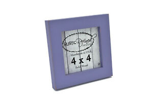 """Gallery Picture Frame, 1""""  multiple sizes and colors, solid wood home decor"""