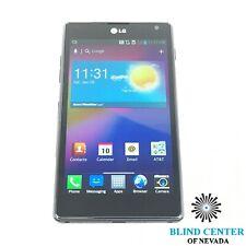 "LG Optimus 4.7"", 16GB, Black, AT&T Smartphone"
