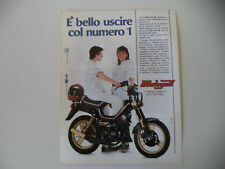 advertising Pubblicità 1987 MALAGUTI FIFTY FULL CX 50