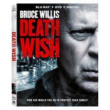 DEATH WISH Blu-ray/DVD + Digital HD NEW + FREE SHIPPING! #DeathWish #BruceWillis