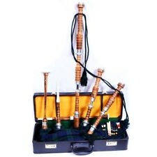 New Brand New Highland Rosewood Bagpipe Full Set Silver Mounts Free Carrying bag