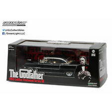 Greenlight The Godfather 1955 Cadillac Fleetwood 60 Diecast Car Blk 1:43 86492