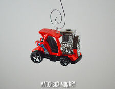 Supercharged Mini Golf Cart No Ez Go Club Car Chrome Mag Wheels Ornament Rare