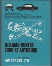 AUTOBOOK MANUAL 1966 – 1972,HILLMAN HUNTER SCEPTRE SINGER VOGUE ALPINE