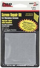 "Prime Line P8095 3"" X 3"" Gray Adhesive Backed Screen Repair Patches 5 Count"