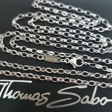 THOMAS SABO ❤orig.Silber Kette 70cm breite 3mm 925 Silver Halskette Necklace NEU