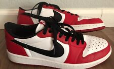 Nike Air Jordan 1 Retro 705329-600  Low OG Chicago Men's Size 10