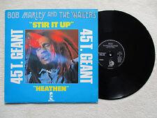 "MAXI 45T BOB MARLEY & THE WAILERS ""Stir it up"" ISLAND 9198 077 FRANCE §"