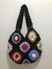 Crochet Granny Squares Shoulder bag New