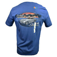 1963 Stingray Men's T-shirt Chevrolet Racing 427 Island Shores Classic Cars NWT
