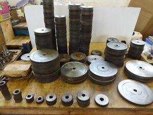 """Harrison lathe L5, L6, 140,11"""",12"""" 15"""" change wheel, changewheels GENUINE! Gears"""