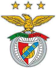 "SL Benfica FC Portugal Football Soccer Car Bumper Sticker Decal 3.9""X5"""