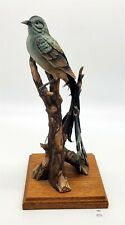 ThriftChi ~ Andrea By Sadek Scissor Tailed Flycatcher on Branch Figurine Repairs