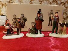 Dept 56: Heritage Village-Vision of A Christmas Past, Set Of 3 #58173
