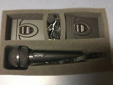 Movo WMIC60 2.4GHz Wireless Lavalier & Handheld Microphone System.