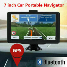 7'' Car GPS Navigation Lorry Coach Truck Navigator Nav 8GB POI Speedcam Free Map