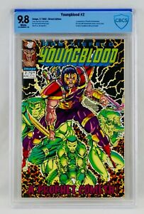 Youngblood #2 CBCS 9.8 First Prophet & Shadowhawk Appearance 1st App Key Not CGC