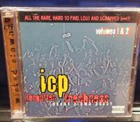Insane Clown Posse - Forgotten Freshness vol 1 & 2 CD set twiztid myzery esham