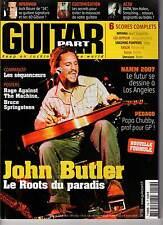 "GUITAR PART #156 ""John Butler,Kifer Sutherland,Warattah"" (REVUE+CD)"