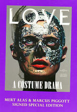 Limited Edition LOVE Magazine SIGNED MERT ALAS MARCUS PIGGOTT Malgosia Bela NEW