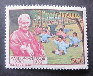 Soziales Medizin Kindererziehung M.Montessori  Italien 1970
