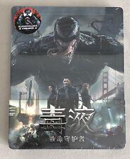 Venom Blufans Exclusive 1/4 Slip Steelbook 4K UHD
