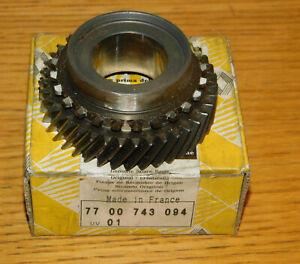 original RENAULT 7700743094 pignon MOTEUR boite de vitesse R21 gearbox RITZEL