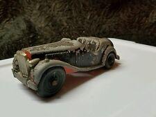 Vintage Hubley Kiddie Die Cast Red MG Toy Car #485 LANCASTER,PA