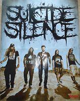 ⭐⭐⭐⭐  SUICIDE SILENCE  ⭐⭐⭐⭐ SATYRICON  ⭐⭐⭐⭐ 1 Poster 45 x 58 cm ⭐⭐⭐⭐