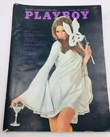 1968 October PLAYBOY Vargas Pinup Ralph Nader Interview Issue Good Condition