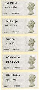 2010 Post & Go Broadmead set - Wrong font on worldwide 10g & error in code