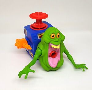 Real Ghostbusters Vintage GOOPER GREEN GHOST Figure w/ Plunger 1988 Kenner