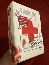 Autographed Sleepaway Camp Survival Kit, 4 Dvd Original Banned Cover! Rare Oop