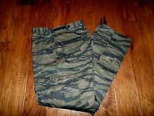 MILITARY STYLE ASIAN TIGER STRIPE BDU PANTS CAMOUFLAGE 6 POCKET TROUSERS LARGE