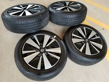 "17"" Nissan Altima 2019 OEM black wheels rims tires 2016 2017 2018 Maxima Juke"
