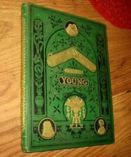 Golden Sayings for the Young, Late 1800's, Religious Tract Society, HB, Illustr.
