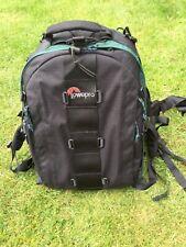 Lowepro Nature Trekker AW Photo Camera Backpack Bag Black/Green Good Condition